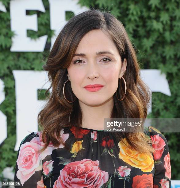 Rose Byrne attends the photo call for Columbia Pictures' Peter Rabbit at The London Hotel on February 2 2018 in West Hollywood California