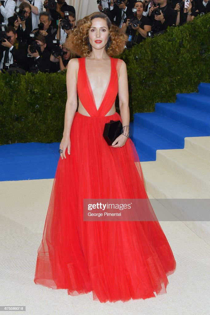 Rose Byrne attends the 'Rei Kawakubo/Comme des Garcons: Art Of The In-Between' Costume Institute Gala at Metropolitan Museum of Art on May 1, 2017 in New York City.