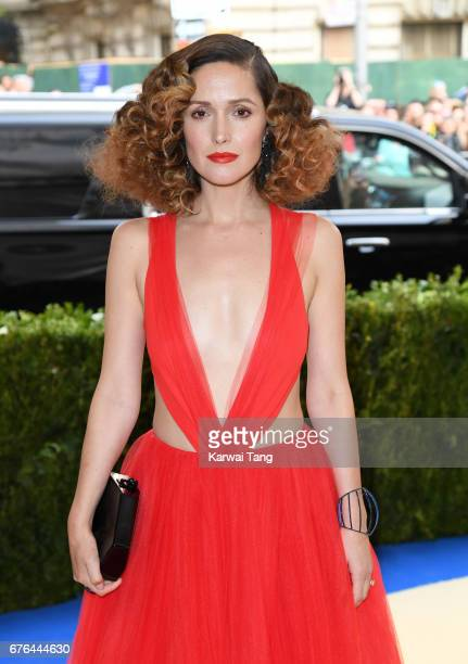 Rose Byrne attends the 'Rei Kawakubo/Comme des Garcons Art Of The InBetween' Costume Institute Gala at the Metropolitan Museum of Art on May 1 2017...