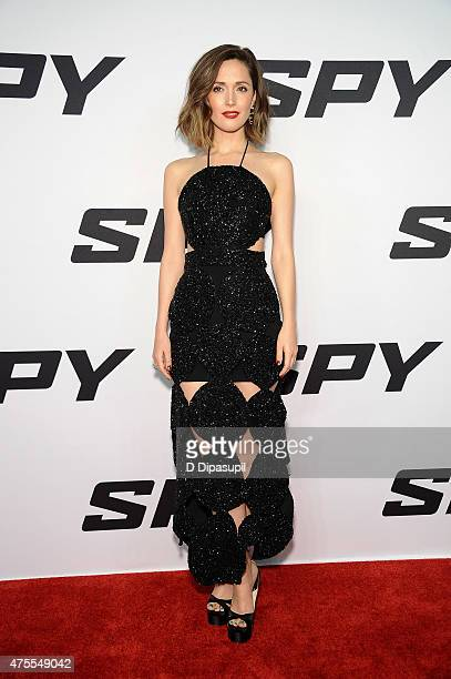 Rose Byrne attends the 'Spy' New York Premiere at AMC Loews Lincoln Square on June 1 2015 in New York City