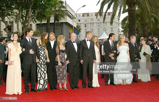 Rose Byrne Eric Bana Saffron Burrows Sean Bean Wolfgang Petersen Brad Pitt Jennifer Aniston Orlando Bloom Diane Kruger and Brian Cox