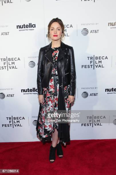 Rose Byrne from 'Hair' attends the Shorts Program New York Group Therapy during the 2017 Tribeca Film Festival at Regal Battery Park Cinemas on April...
