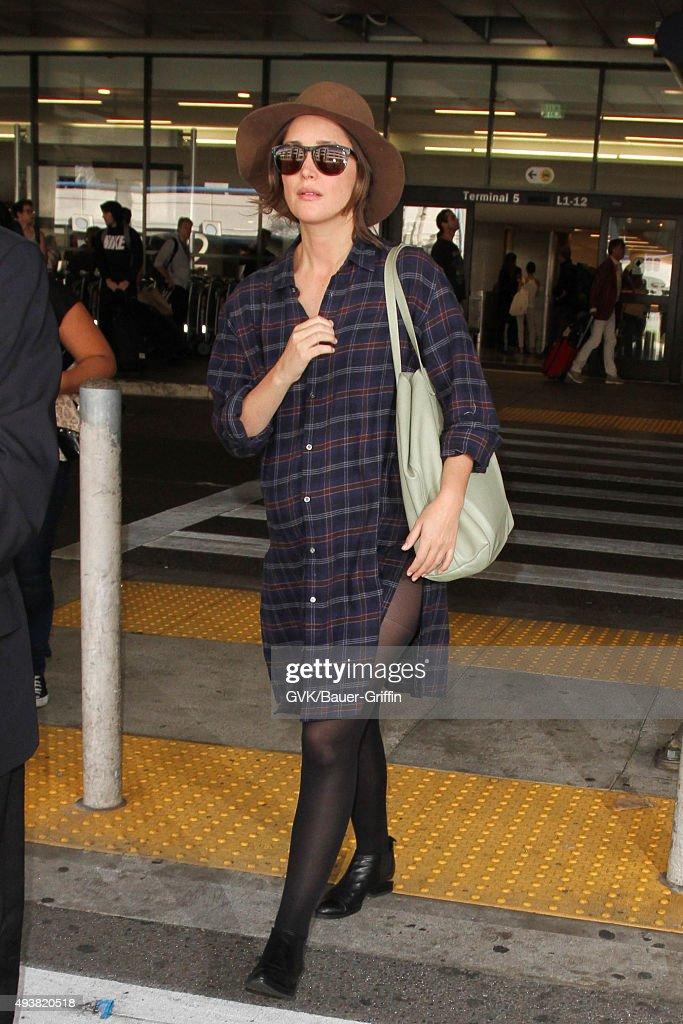 Celebrity Sightings In Los Angeles - October 22, 2015 : News Photo