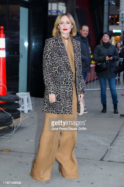 Rose Byrne is seen on January 06, 2020 in New York City.