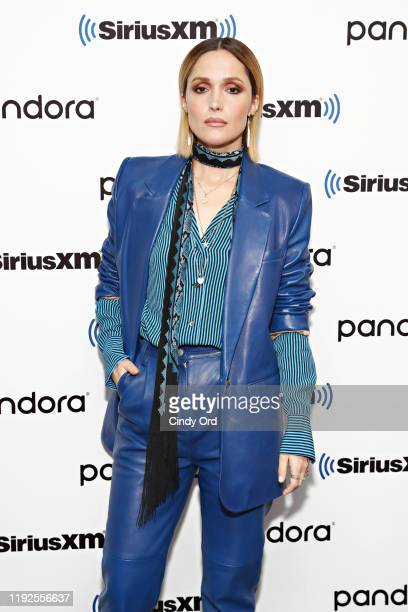 Rose Byrne poses for a photo during SiriusXM's Town Hall with the cast of 'Like A Boss' hosted by Hoda Kotb at the SiriusXM Studio on January 8, 2020...