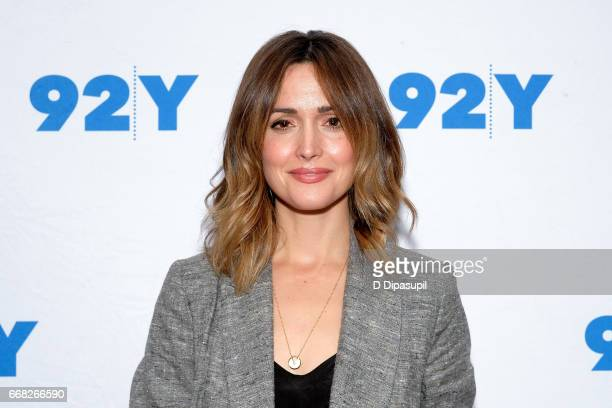 Rose Byrne visits the 92nd Street Y to discuss 'The Immortal Life of Henrietta Lacks' on April 13 2017 in New York City