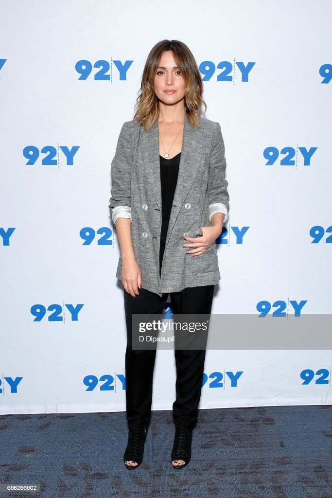 Rose Byrne visits the 92nd Street Y to discuss 'The Immortal Life of Henrietta Lacks' on April 13, 2017 in New York City.