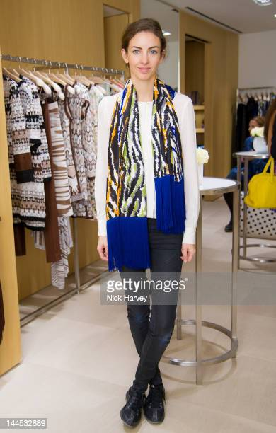 Rose Cholmondeley the Marchioness of Cholmondeley attends the Missoni lunch at Missoni store Bond Street on May 15 2012 in London England
