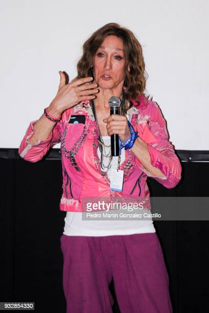 Rose Cory queer icon winner of the Maguey Ícono Queer from the documentary Miss Rosewood speaks during the 33 Guadalajara International Film Festival...