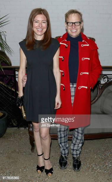 Rose Dergan and artist Will Cotton attend the screening after party for 'The Party' hosted by Roadside Attractions and Great Point Media with The...