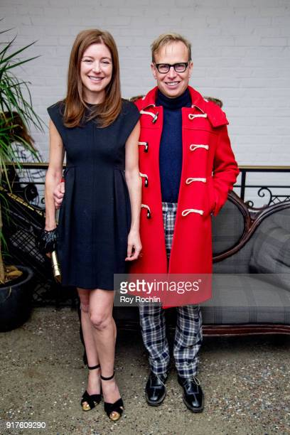 Rose Dergan and Will Cotton attend the screening after party for 'The Party' hosted by Roadside Attractions and Great Point Media with The Cinema...