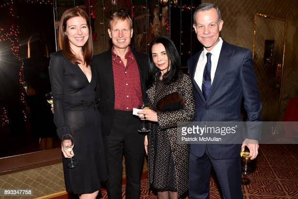 Rose Dergan Will Cotton Mary Boone and Peter Barba attend A Christmas Cheer Holiday Party 2017 Hosted by George Farias Anne and Jay McInerney at The...