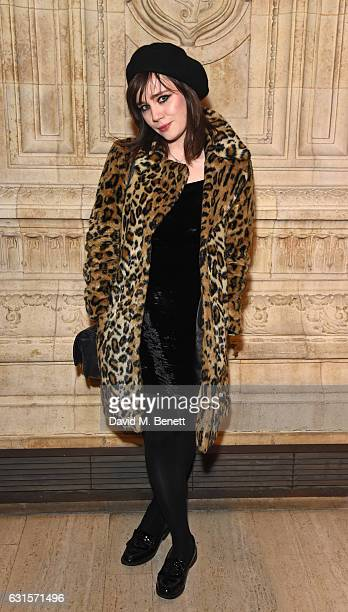 Rose Elinor Dougall attends the press night performance of 'Cirque du Soleil Amaluna' on January 12 2017 in London United Kingdom