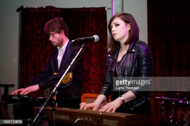 Rose Elinor Dougall Performs At The Flowerpot on February 03, 2010 in London, England.