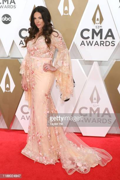 Rose Falcon attends the 53nd annual CMA Awards at Bridgestone Arena on November 13 2019 in Nashville Tennessee