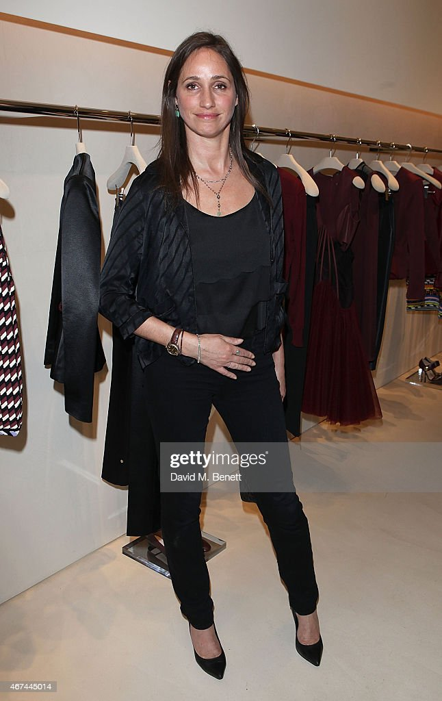 Rose Ferguson attends the opening of Christopher Kane's London Flagship store on March 24, 2015 in London, England.