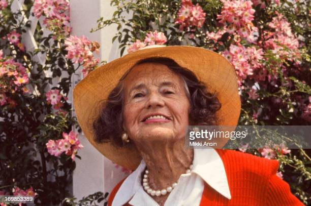 Rose Fitzgerald Kennedy on her 92nd birthday at home in Hyannis Port, Massachusetts, 22nd July 1982.