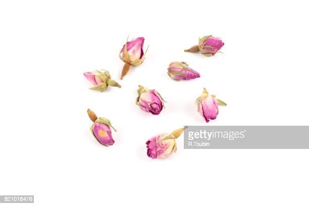 rose flower dry tea