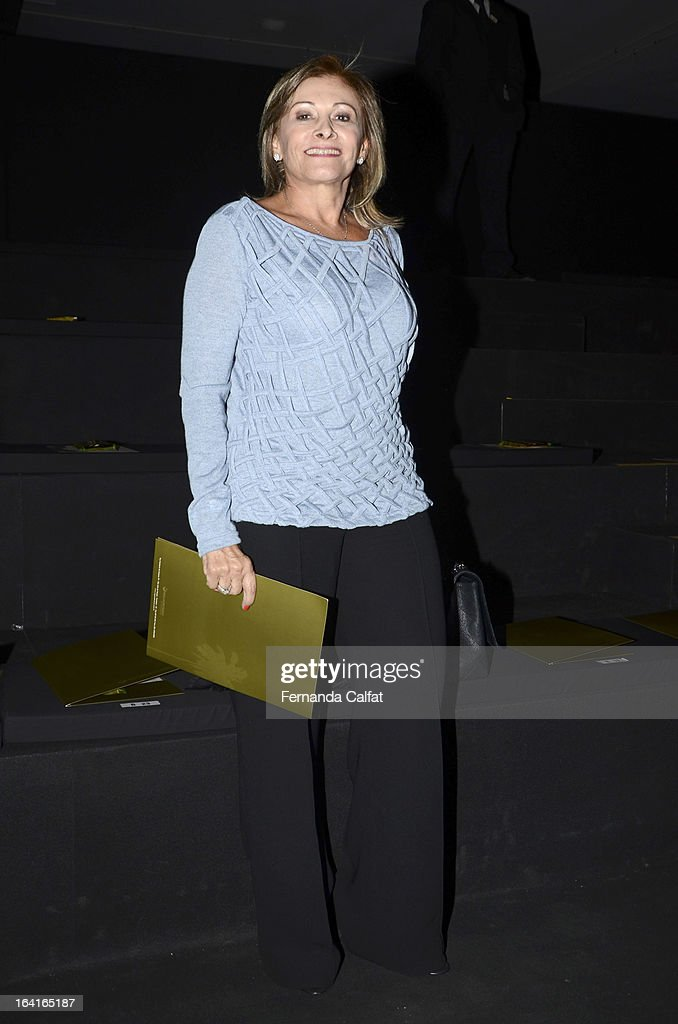 Rose Frank attends the Agua de Coco show during Sao Paulo Fashion Week Summer 2013/2014 on March 20, 2013 in Sao Paulo, Brazil.