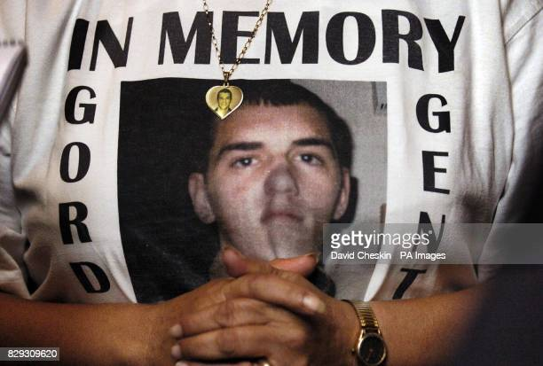 Rose Gentle speaks of her 19yearold son Gordon who was killed when his military convoy was hit by a roadside bomb in the southern Iraqi city on June...