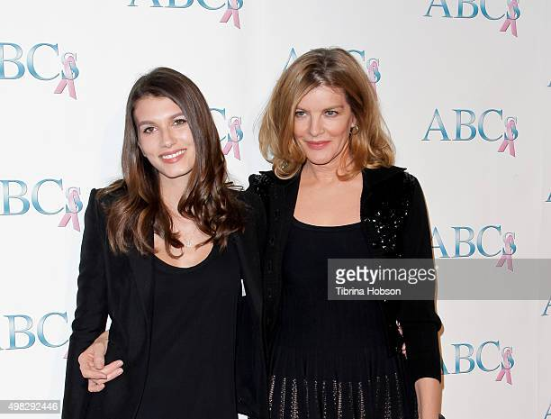 Rose Gilroy and Rene Russo attend the 2015 Talk Of The Town Gala at The Beverly Hilton Hotel on November 21 2015 in Beverly Hills California