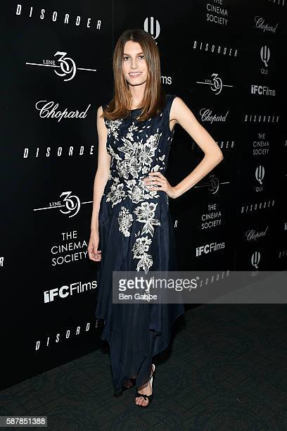 Rose Gilroy attends a screening of IFC Films' 'Disorder' hosted by The Cinema Society Chopard with Line 39 and Qui at Landmark Sunshine Cinema on...