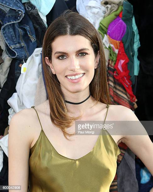 Rose Gilroy attends the Uniform Heron Preston for DSNY presentation during New York Fashion Week at DSNY Salt Shed on September 7 2016 in New York...