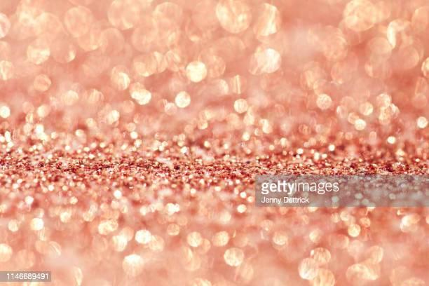 rose gold background - ローズゴールド ストックフォトと画像
