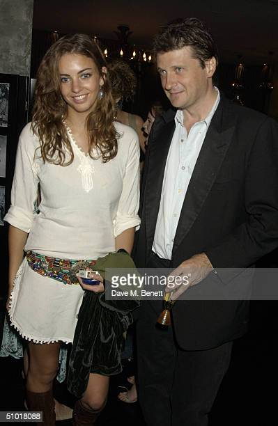 Rose Hanbury and Lord John Somerset attend the Tatler Magazine's Summer Party at Baglioni Hotel July 1 2004 in Kensington London England