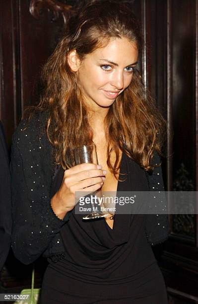 Rose Hanbury attends the book launch for historian Andrew Roberts new book Waterloo at the English Speaking union Club in Mayfair on February 8 2005...