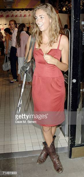 Rose Hanbury attends the launch party for the label Tsubi in The Shop at Bluebird on July 20 2006 in London England