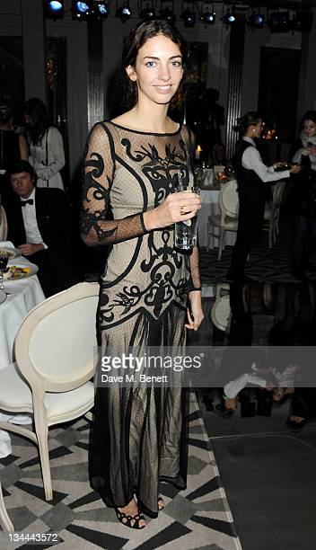 Rose Hanbury attends the Leon Max Winter Dinner and Dance for 'Too Many Women' in support of Breakthrough Breast Cancer at Claridges Hotel on...