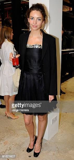 Rose Hanbury attends theChanel ParisLondres Party At Dover Street Market on June 10 2008 in London England