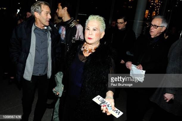 Rose Hartman attends Opening Reception For Andy Warhol From A To B And Back Again Hosted By Calvin Klein at The Whitney Museum of American Art, NYC...