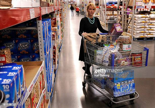Rose Hill Elementary School principal Samara Williams shopped at Sam's Club Wednesday to prepare for a meeting at school with parents By providing...