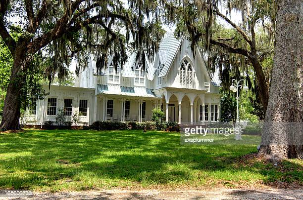rose hill mansion - southern usa stock pictures, royalty-free photos & images