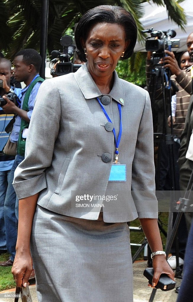 Rose Kabuye Aide To Rwandan President Paul Kagame Is Pictured On
