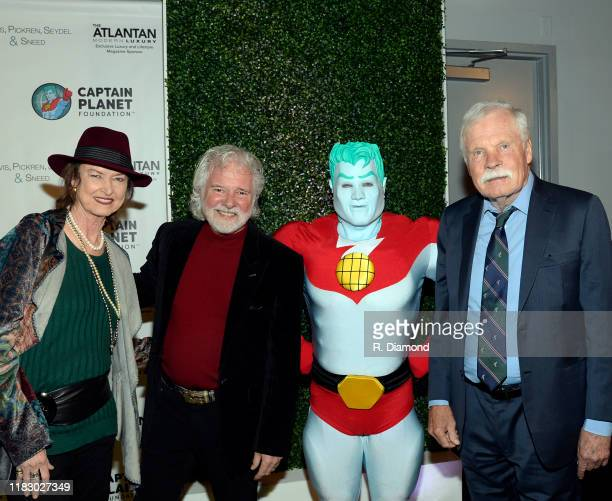 Rose Lane Leavell Rolling Stones Keyboardist/Honoree Chuck Leavell Captain Planet and Ted Turner attend 2019 Captain Planet Foundation Gala at...