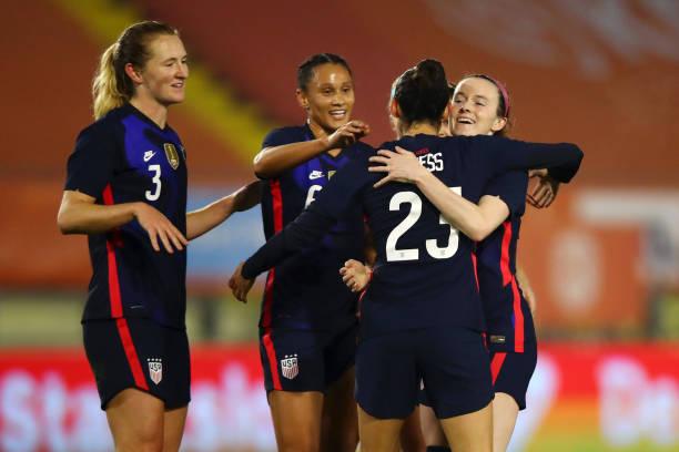 NLD: Netherlands Women v USA Women - International Friendly