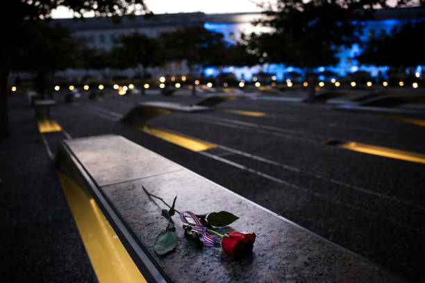VA: Ceremonies At The Pentagon Mark 20th Anniversary Of The September 11th Attacks