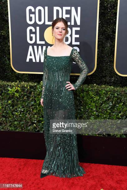 Rose Leslie attends the 77th Annual Golden Globe Awards at The Beverly Hilton Hotel on January 05 2020 in Beverly Hills California