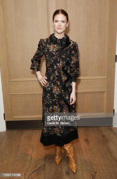 Rose Leslie attends The Casting Awards 2020 at The Ham Yard Hotel on February 11, 2020 in London, England.