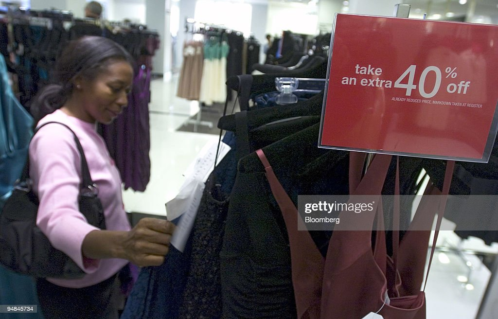 Rose Livingston Looks Over Formal Dresses While Shopping In Pictures