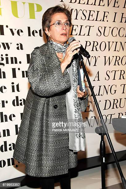 Rose Marie Bravo attends WYCLEF JEAN hosts PHOENIX HOUSE Book Launch with THEORY at Theory Gansevoort on October 29 2008 in New York City