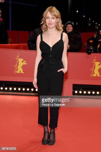 Rose Marie Perreault attends the Hommage Willem Dafoe Honorary Golden Bear award ceremony and 'The Hunter' screening during the 68th Berlinale...