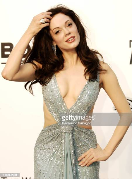 Rose McGowan at amfAR's Cinema Against AIDS event presented by Bold Films the M*A*C AIDS Fund and The Weinstein Company to benefit amfAR