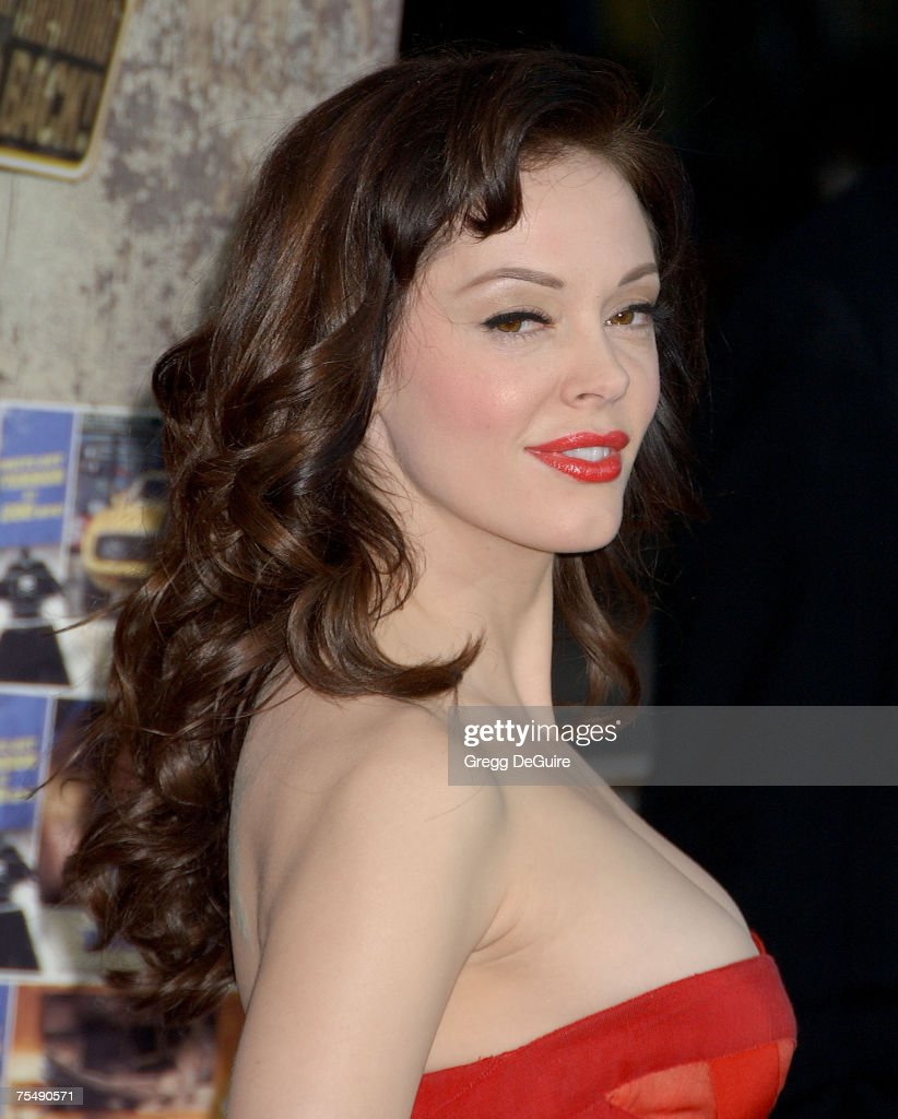 Rose McGowan at the The Orpheum Theatre in Los Angeles, California