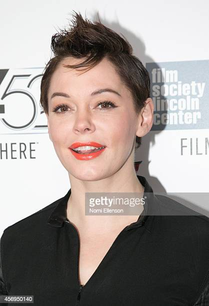 Rose McGowan attends 'Listen Up Phillip' during the 52nd New York Film Festival at Alice Tully Hall on October 9 2014 in New York City
