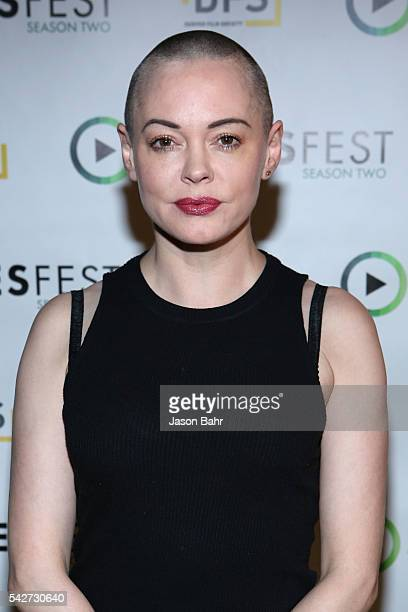 Rose McGowan attends SeriesFest Season Two at Sie FilmCenter on June 23 2016 in Denver Colorado