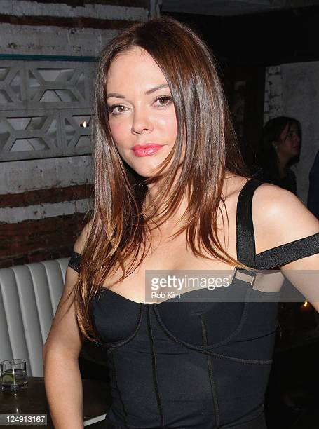 Rose McGowan attends the AnOther Magazine Issue 21 Launch Party at Pulqueria on September 13 2011 in New York City